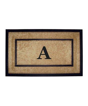 Dirtbuster Monogrammed Doormat