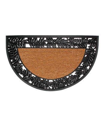 36'' Wrought Iron Half-Circle Doormat