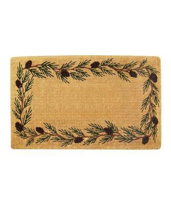 Evergreen Border Doormat