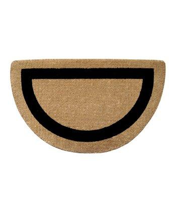 Single Frame Half-Circle Doormat