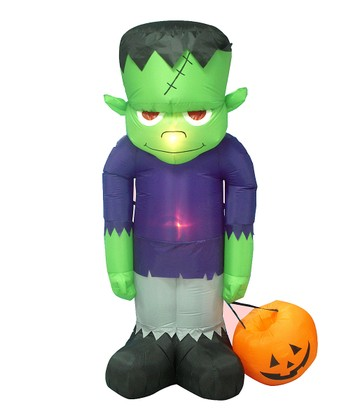 Frankenstein Inflatable Light-Up Lawn Decoration