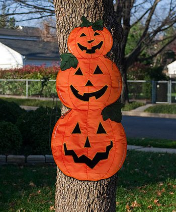 Pumpkin Trio Tree Wrap