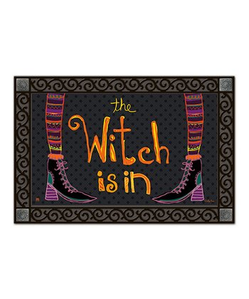 'Witch Is In' MatMate Doormat