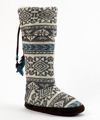 Gray Winona Slipper Boot - Women