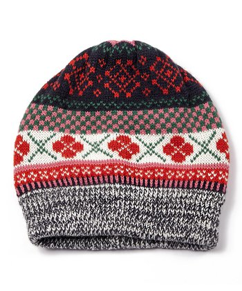 Red Mix It Up Beanie - Women