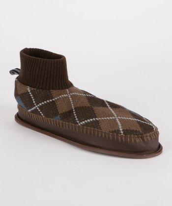 Brown Sheldon Retro Slipper - Men