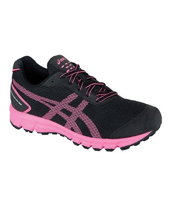 Black & Neon Pink GEL®-Matchplay 33 Running Shoe - Women