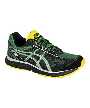 Jungle Green & Lightning GEL®-Scram 2 Trail Running Shoe - Men