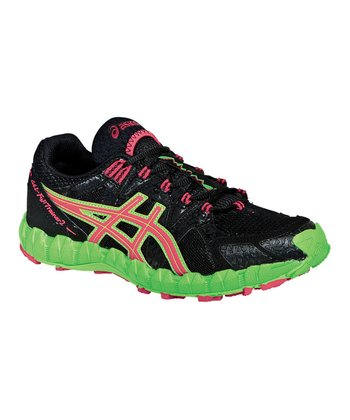 Black & Pink GEL®-FujiTrainer 2 Trail Running Shoe - Women