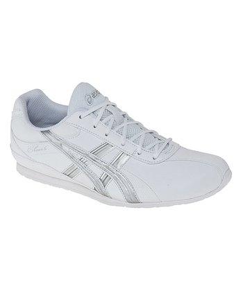 White & Silver Cheer 6 GS Cheerleading Shoe - Girls