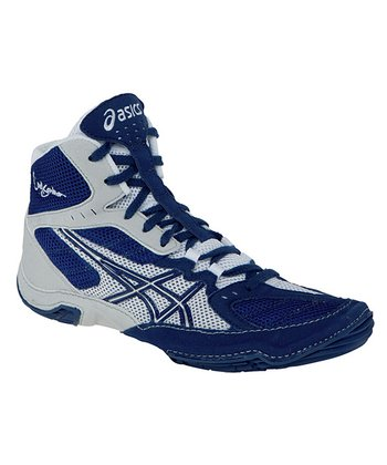 Navy & Silver Cael V5.0 GS Wrestling Shoe - Boys