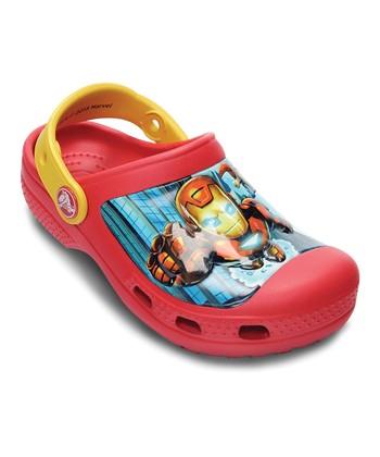 Crocs Red & Canary Marvel® Avengers™ II Creative Crocs™ Clog