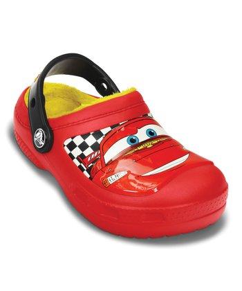 Crocs Red Creative Crocs McQueen™ Lined Clog