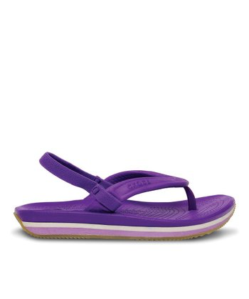 Neon Purple & Iris Crocs Retro Flip-Flop