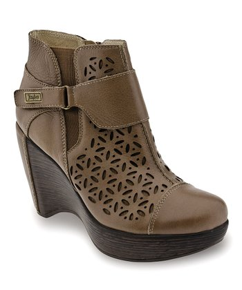 Latte Amber Wedge Boot - Women
