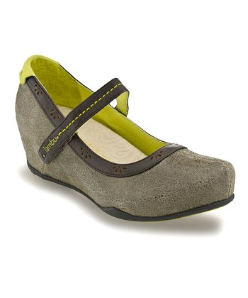 Brown Muse Wedge Mary Jane - Women