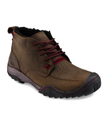Brown & Red Andy All-Terrain Shoe - Men
