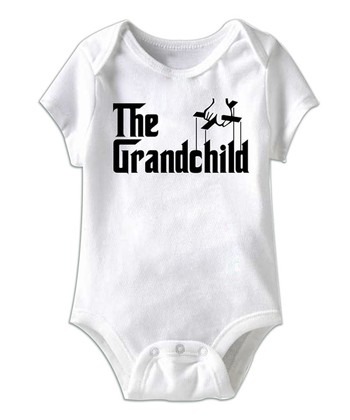 White 'The Grandchild' Bodysuit - Infant