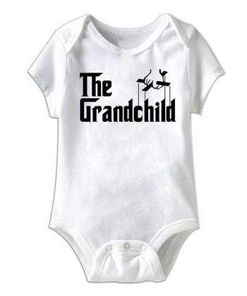 White 'The Grandchild' Bodysuit - Infant