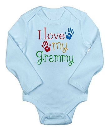 Sky Blue 'I Love My Grammy' Bodysuit - Infant