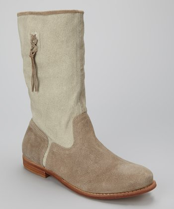 Natural Coachella Boot