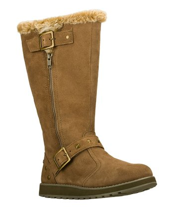Natural Suede Easy Peasy Keepsakes Boot