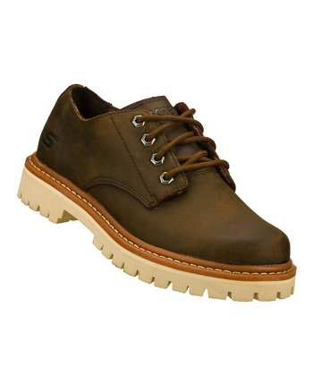 Brown Authentic Little Bolt Oxford