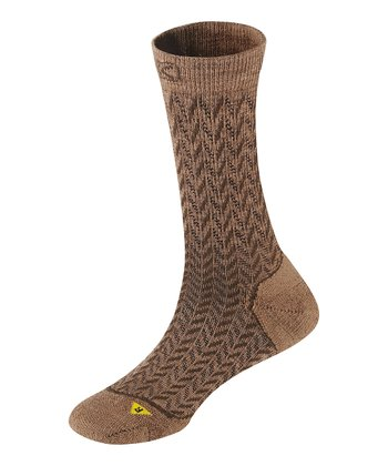 Dark Earth Gracie Lite Wool-Blend Crew Socks - Women