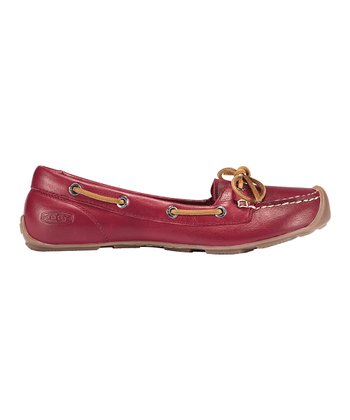 Biking Red Catalina Boat Shoe - Women