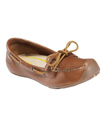 Tan Catalina Boat Shoe - Women