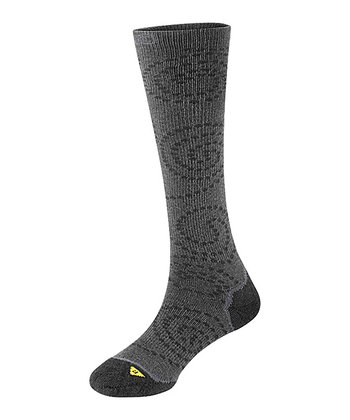 Gray & Charcoal Claire Lite Knee-High Socks - Women