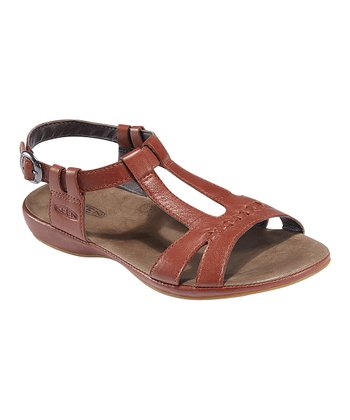 Burnt Henna Emerald City Leather Sandal - Women