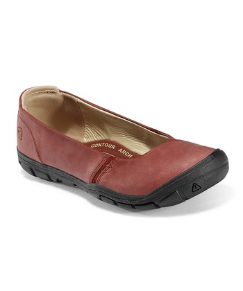 Madder Brown Delancey CNX Ballerina Flat - Women