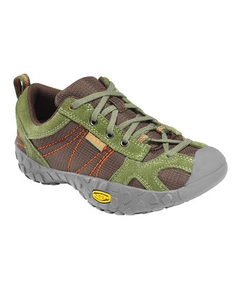 Bronze & Green Ambler All-Terrain Shoe - Kids