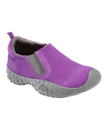 Purple Heart Suede Rintin Slip-On Shoe - Kids