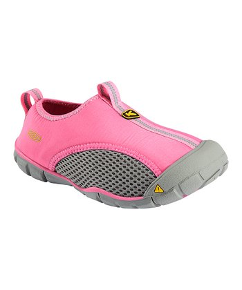 Wild Orchid & Neutral Gray Rockbrook CNX Slip-On Water Shoe - Kid