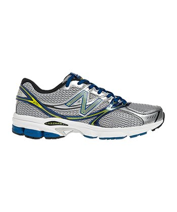 Silver & Blue 670 Running Shoe - Men