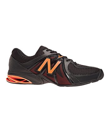 Gray & Orange 787 Cross-Training Shoe - Men