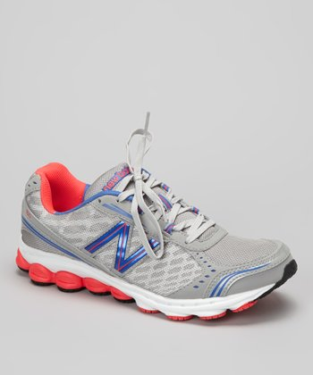 Gray & Coral W1150 Running Shoe - Women