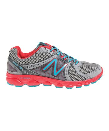 Dark Gray & Orange W750v2 Running Shoe - Women