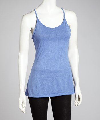 Dazzling Blue Key Item Tank - Women