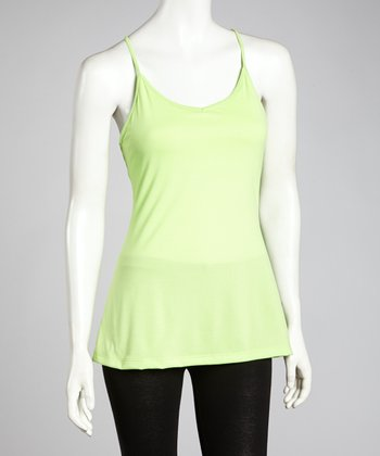 Paradise Green Key Item Tank - Women