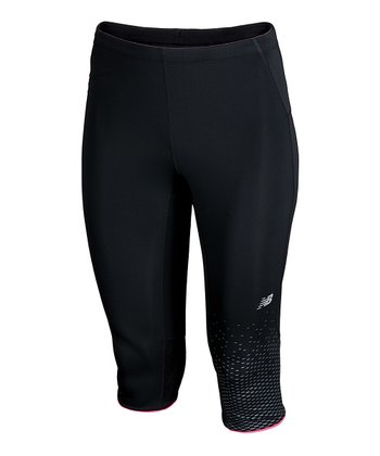 Black Impact Capri Pants - Women