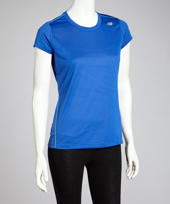 Blue Heather Tee - Women