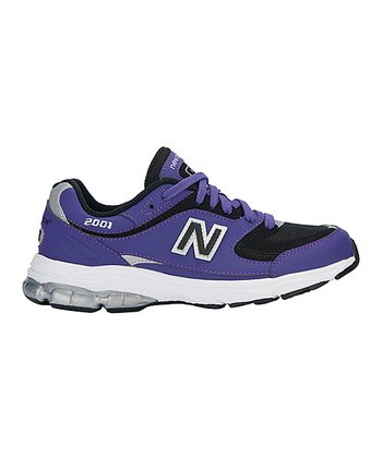 Purple 2001 Running Shoe - Kids