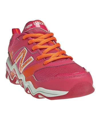 Pink & Orange Tetragel 681 Running Shoe