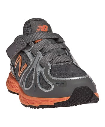Gray & Orange KV890 Running Shoe