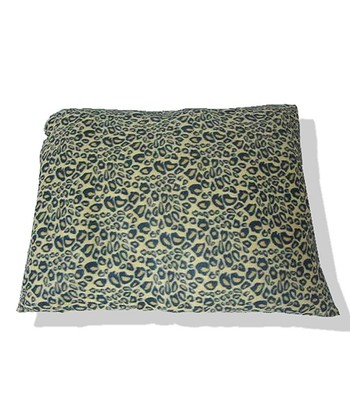 Black Leopard Pillow Pet Bed