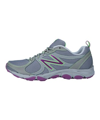 Gray & Purple W320 Running Shoe - Women