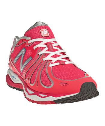 Pink & Silver W890 Running Shoe - Women